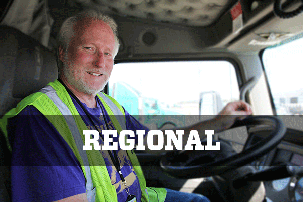 Find regional refrigerated van driving jobs